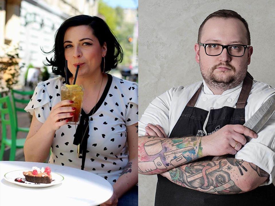 Jemy w Łodzi na warsztatach w Book&Cook