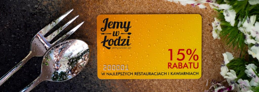 Karta rabatowa Jemy w Łodzi 2020