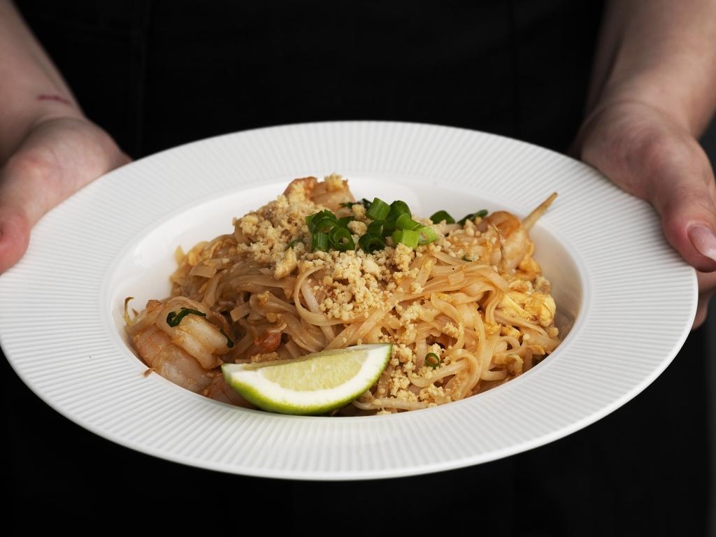 Mały TAJ - pad thai z krewetkami
